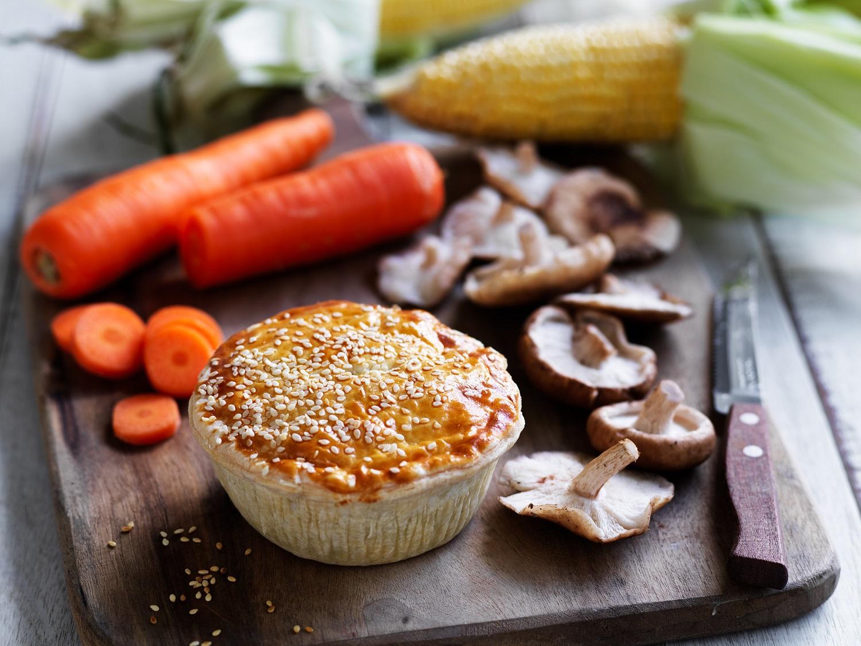 Chicken and Shiitake Mushroom Pie
