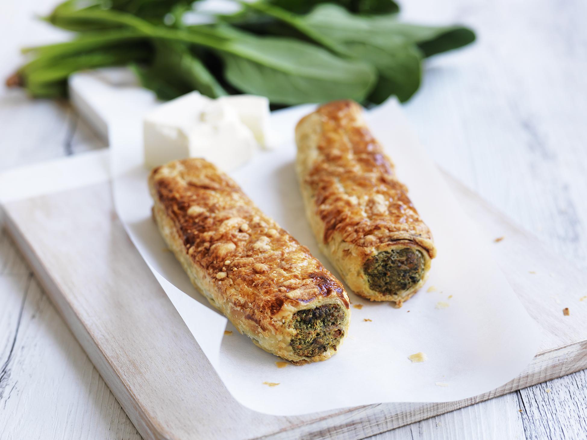 Spinach Feta Roll